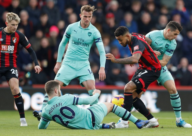 Prediksi Skor Arsenal Vs Bournemouth 28 Februari 2019